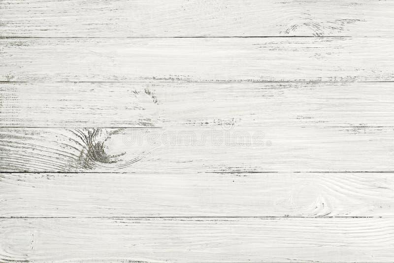 Uitstekende witte houten textuur royalty-vrije stock foto's