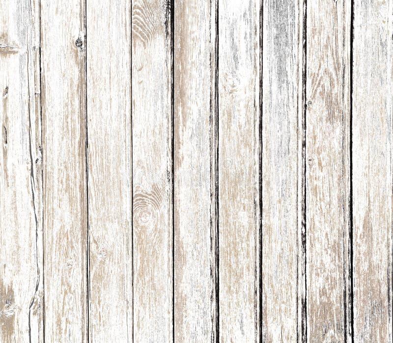 Uitstekende witte oude houten achtergrond royalty-vrije stock afbeeldingen