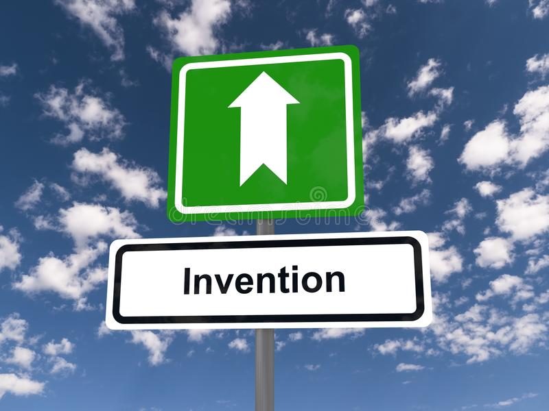 uitvinding vector illustratie