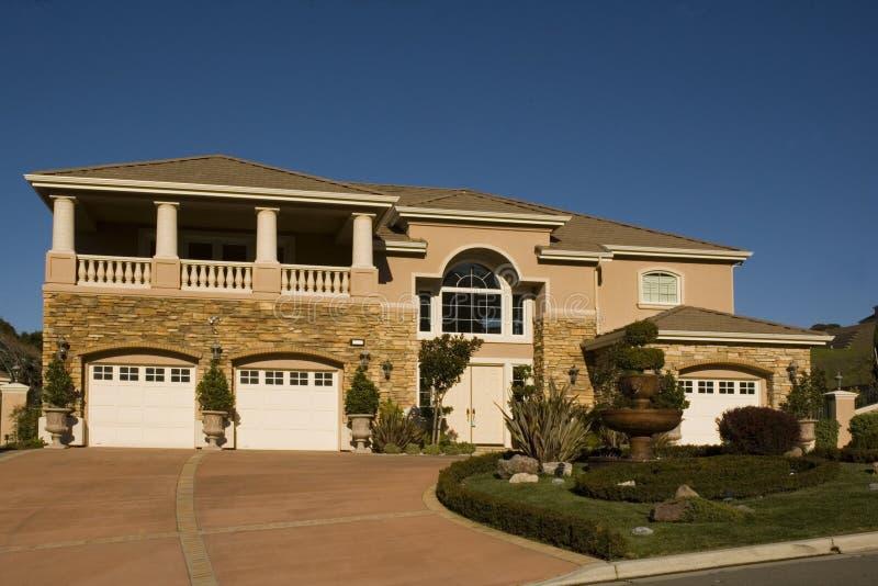 Uitvoerende huizen stock foto
