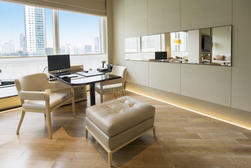 Uitvoerende ruimte in het luxehotel royalty-vrije stock foto