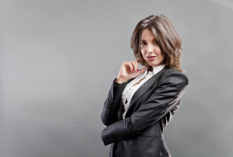 Uitvoerende vrouw stock foto