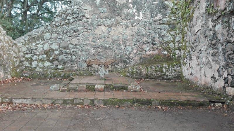 Ujarrà ¡ s ruiny, Costa Rica fotografia royalty free