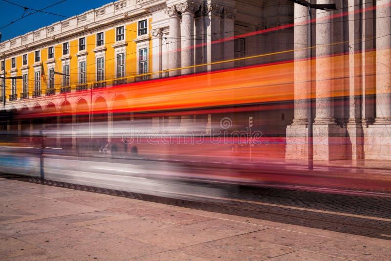 Ujawnienie długi strzał Handel kwadratowy Praca robi Comercio w Li obrazy stock
