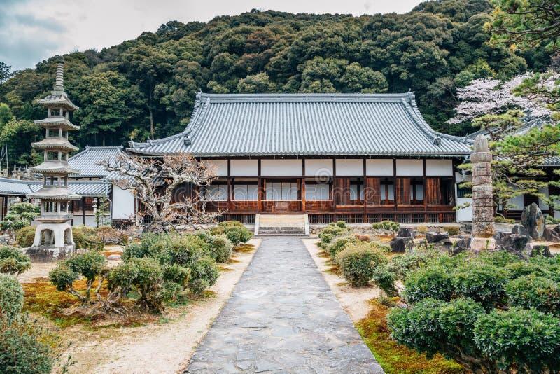Uji Koshoji temple Japanese old architecture in Kyoto, Japan stock images