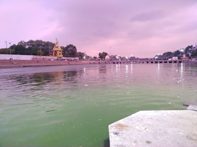 Ujjain-Fluss mahakal lizenzfreie stockbilder