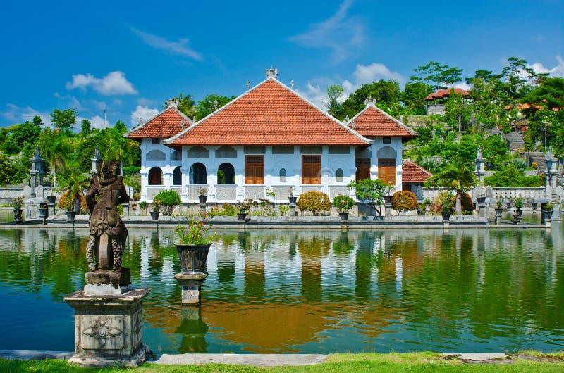 Ujung wody pałac showplace w Karangasem regenci Bali, Indone zdjęcia royalty free