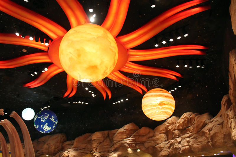 Układ Słoneczny Disney zdjęcie royalty free