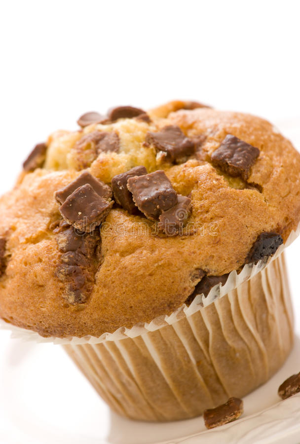 układ scalony czekolady słodka bułeczka obraz stock