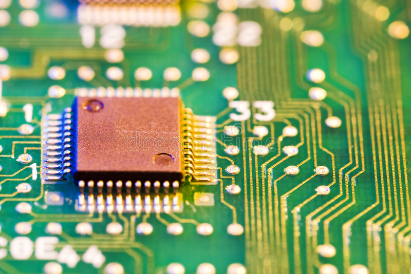 układ scalony komputer zdjęcie royalty free