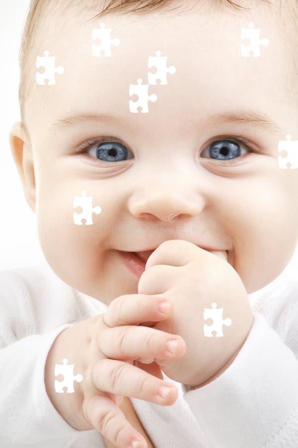 układanki dziecka zdjęcia stock