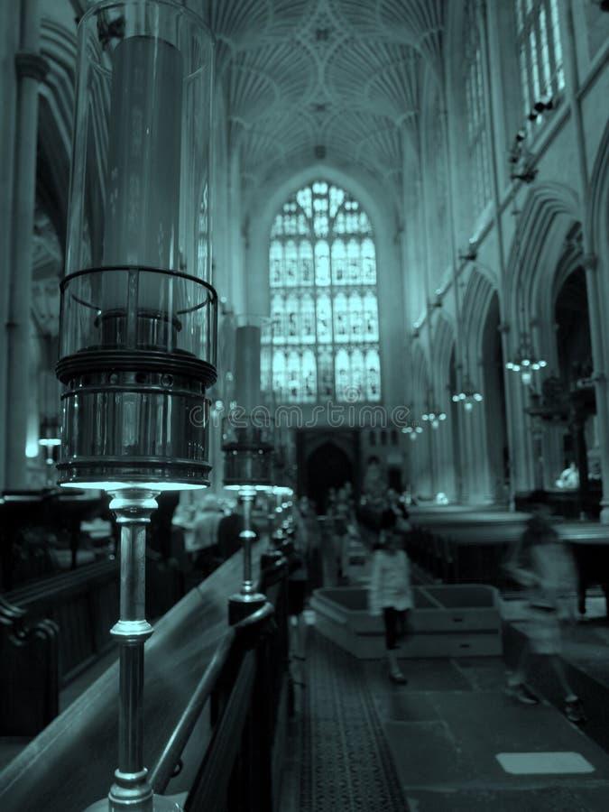 UK-badabbotskloster royaltyfria bilder