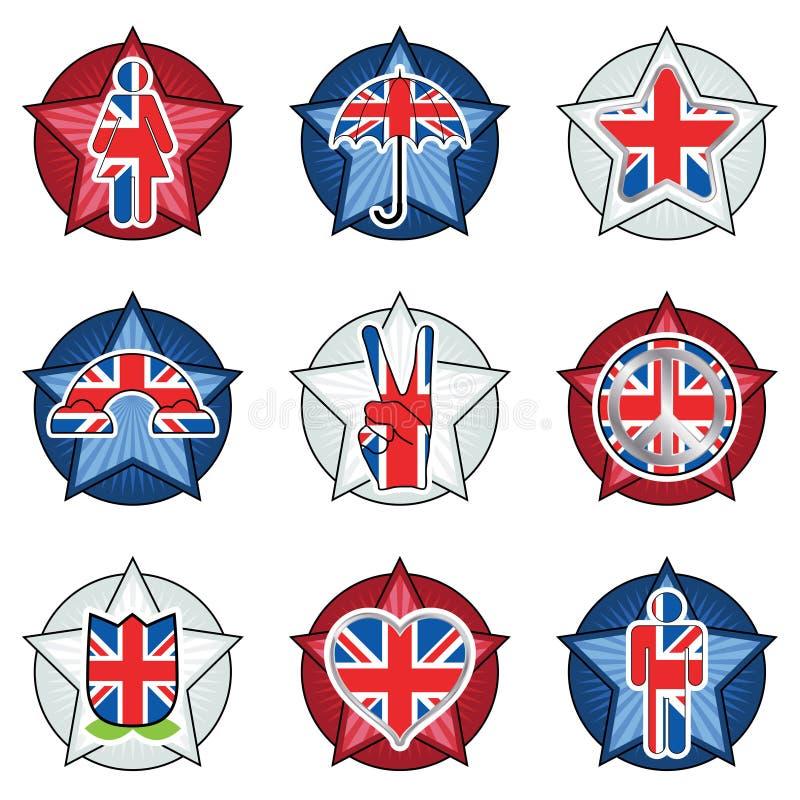 Download Uk Badges Royalty Free Stock Image - Image: 24160606