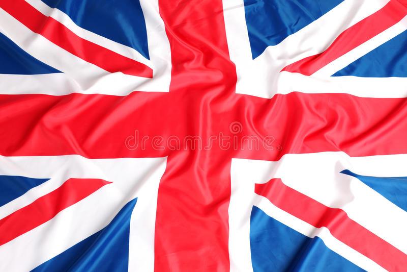 UK, British flag, Union Jack stock photography