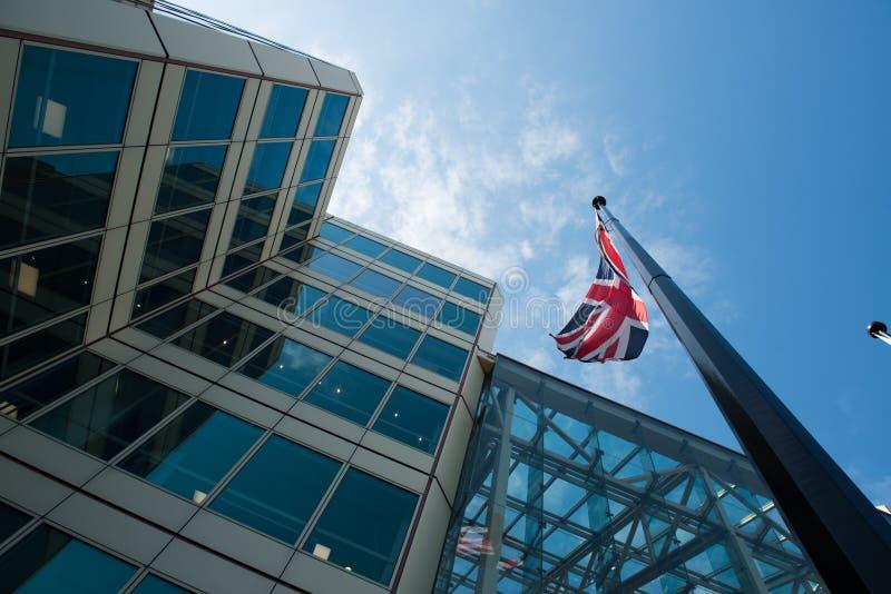 UK budynek biurowy obrazy royalty free