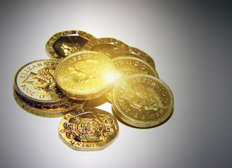 Download UK Coins Stock Photo - Image: 16865190