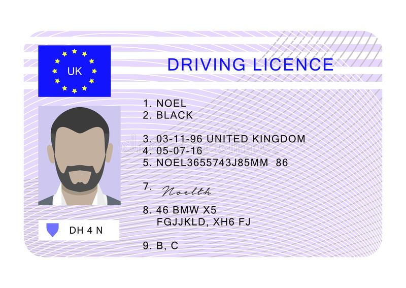 Driver License Stock Illustrations – 1,594 Driver License