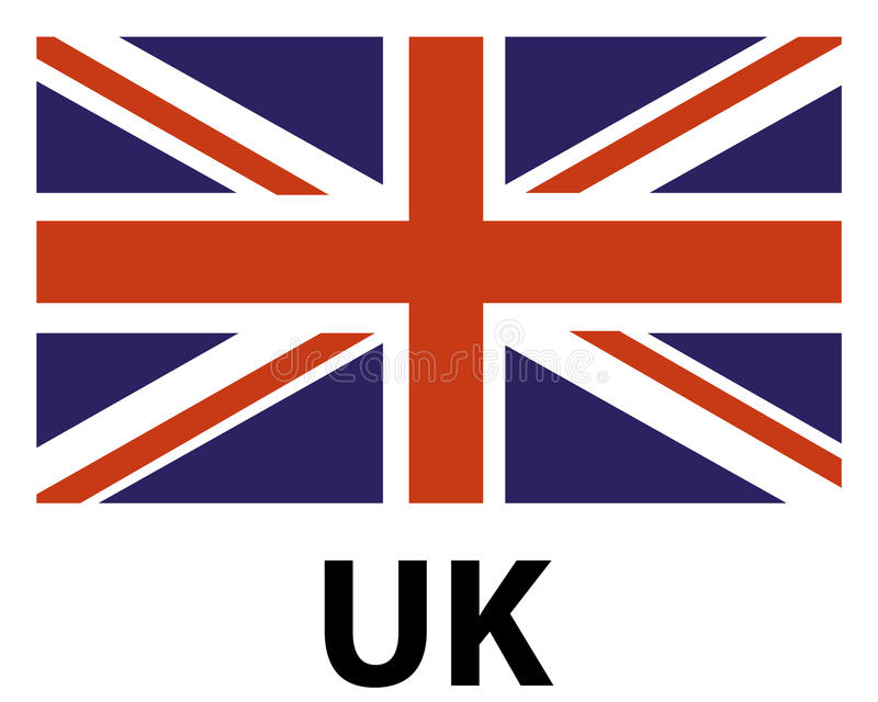 uk flag icon stock vector illustration of country national 96320847 rh dreamstime com british flag vector art british flag vector free download