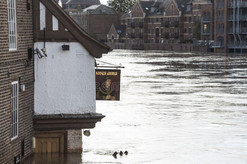 UK Jork Powodzie - Sept.2012 - obrazy stock