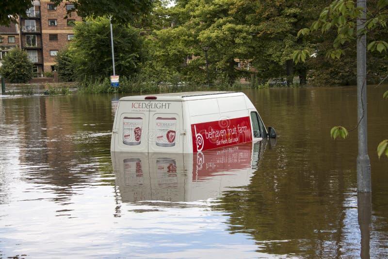UK Jork Powodzie - Sept.2012 - zdjęcie stock