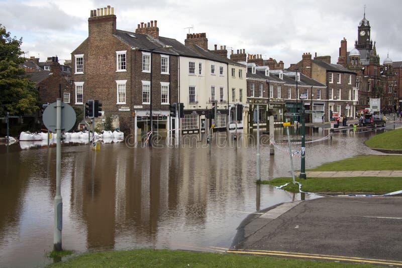 UK Jork Powodzie - Sept.2012 - zdjęcia stock