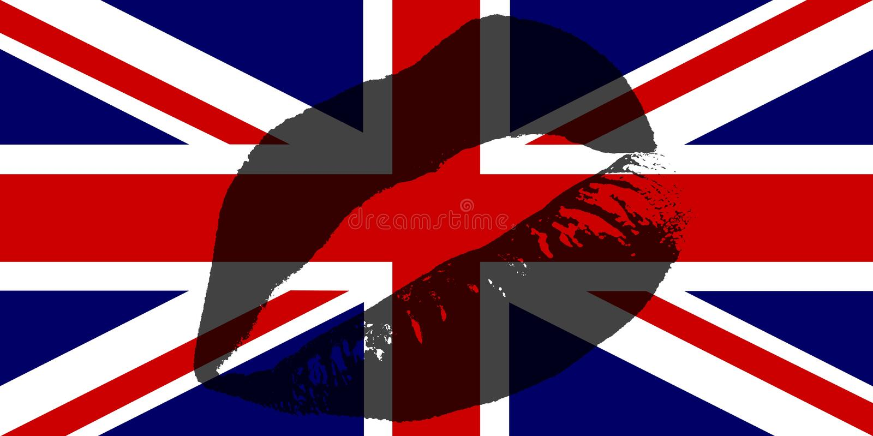 Download UK Kiss stock illustration. Illustration of national, kisses - 3209170