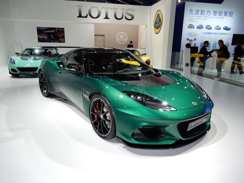 UK Lotus Evora GT430 royaltyfria foton