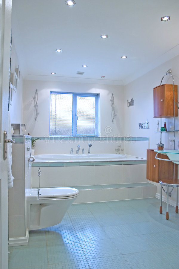 UK luxury bathroom royalty free stock images