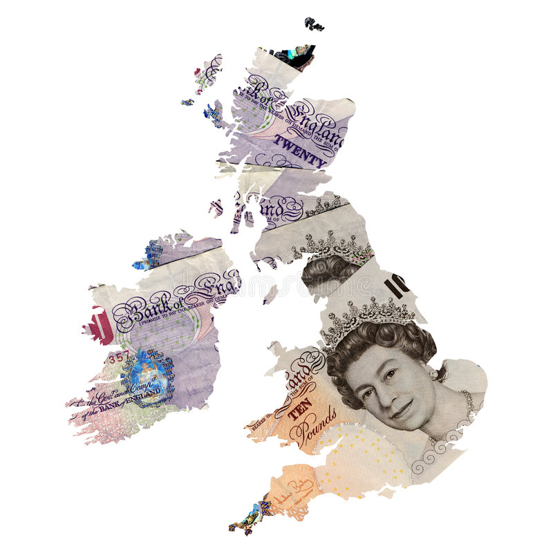 UK map vector illustration