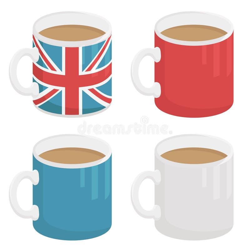 Download Uk mug stock vector. Image of english, white, jack, flag - 24909268