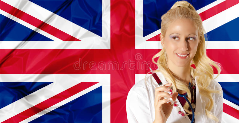 UK opieka zdrowotna fotografia royalty free