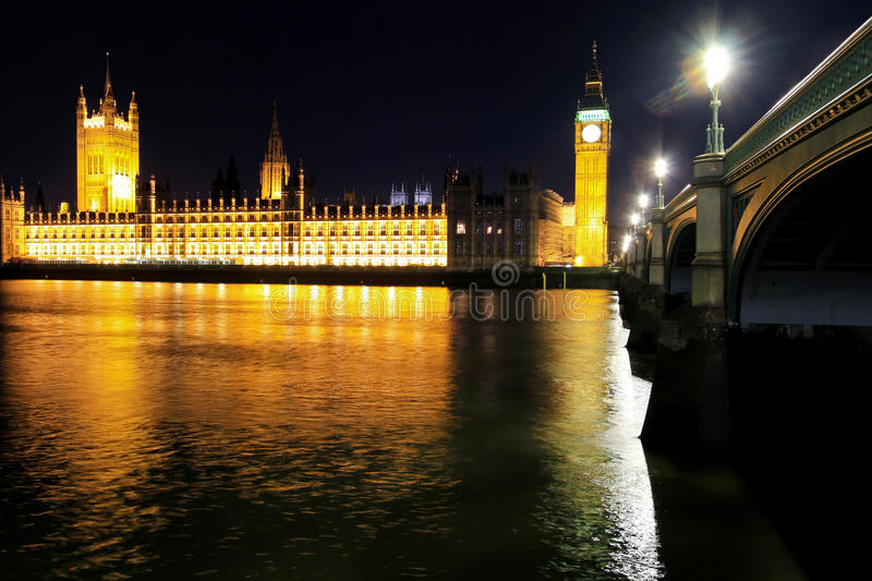 Download UK Parliament stock photo. Image of dark, england, tower - 22207116
