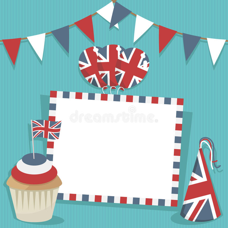 Free Uk Party Card Stock Photo - 24514640