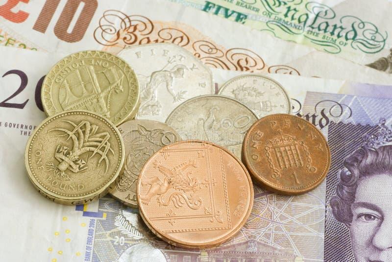 uk pieniądze szterling obrazy stock