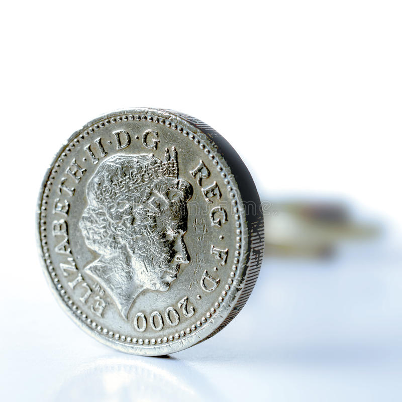 Download UK Pound Coin Macro stock photo. Image of money, gold - 27440186
