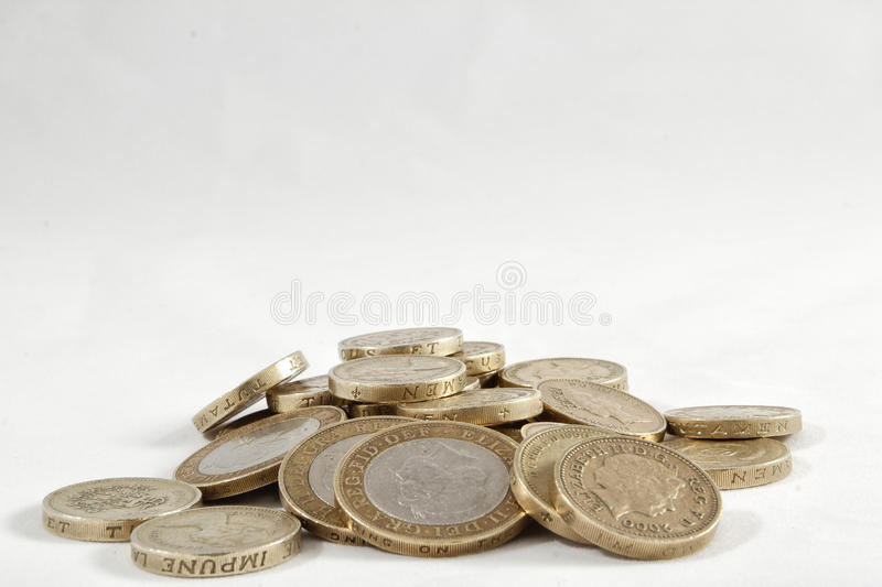 Download Uk Pound Coins stock photo. Image of pounds, stirling - 26951472