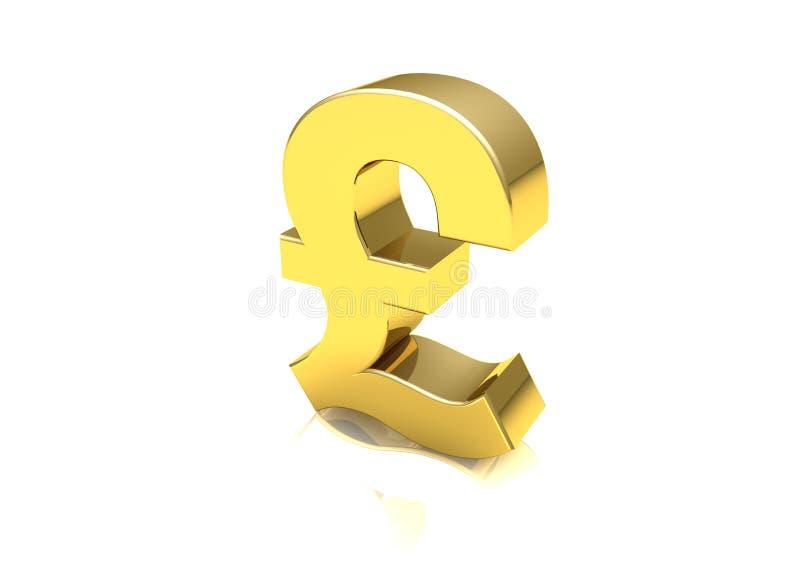 Uk Pound Symbol Stock Illustration Illustration Of Credit 12767426
