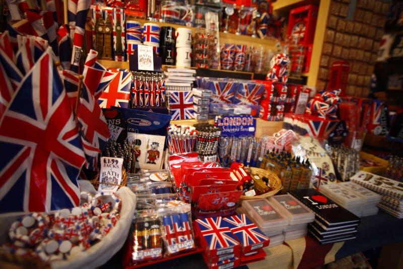 UK-sovenir royaltyfri fotografi