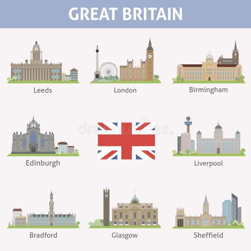 Download UK. Symbols Of Cities Stock Image - Image: 37609131