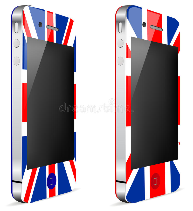Download Uk touch phone stock vector. Illustration of equipment - 20550471