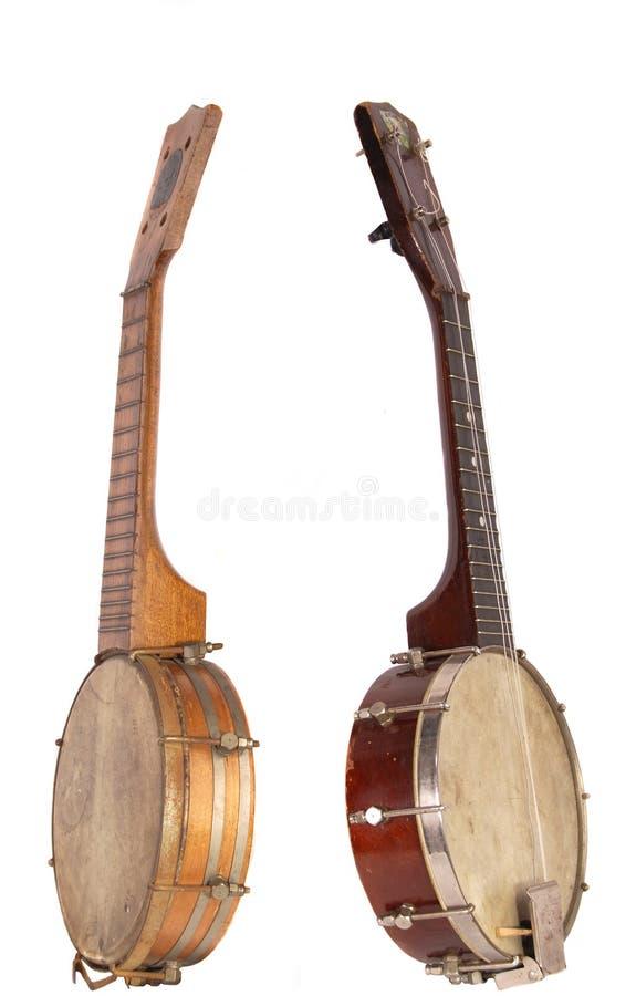 ukeleles банджо стоковые изображения
