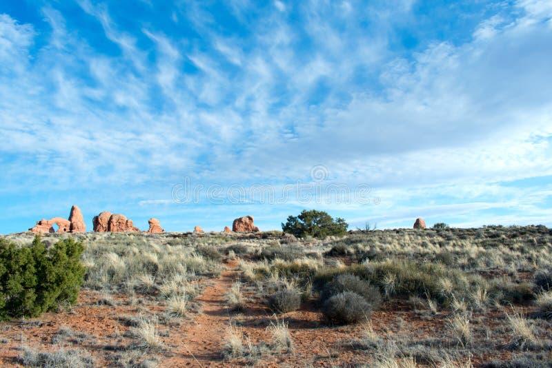 ?uki parki narodowi, Moab, Utah fotografia stock