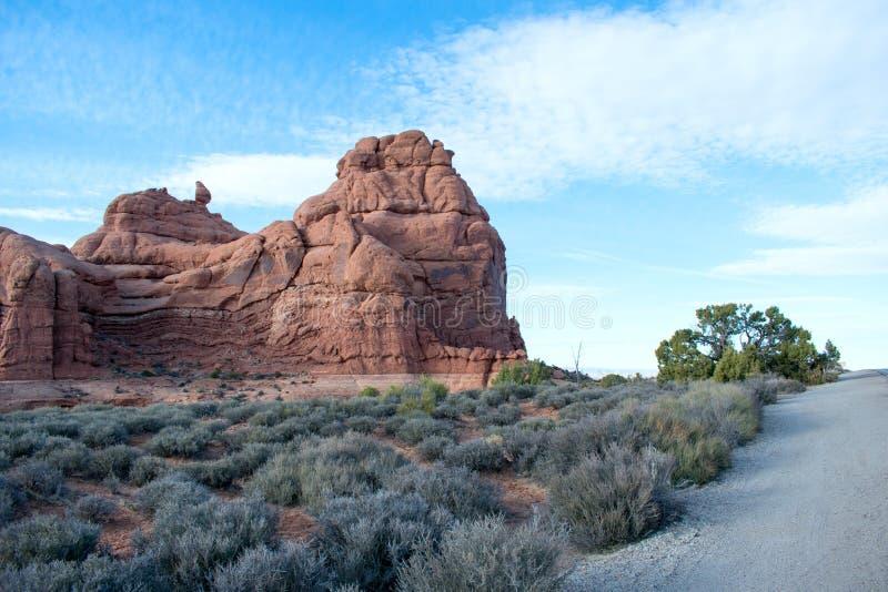 ?uki parki narodowi, Moab, Utah obraz stock