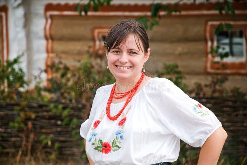 ukraińska kobieta fotografia stock