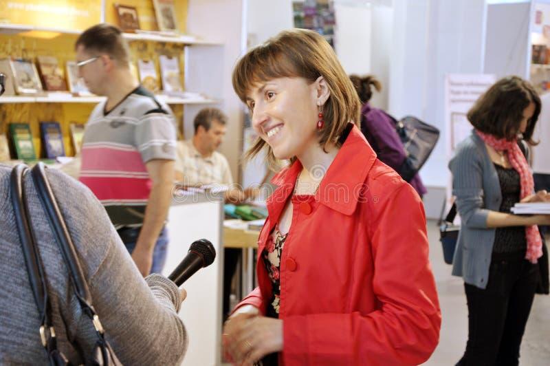 Ukraiński bestselling autor Gerbish Nadiia obraz royalty free