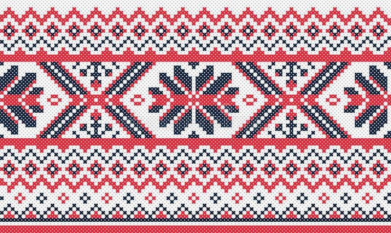 Ukraiński broderia wzór zdjęcie royalty free