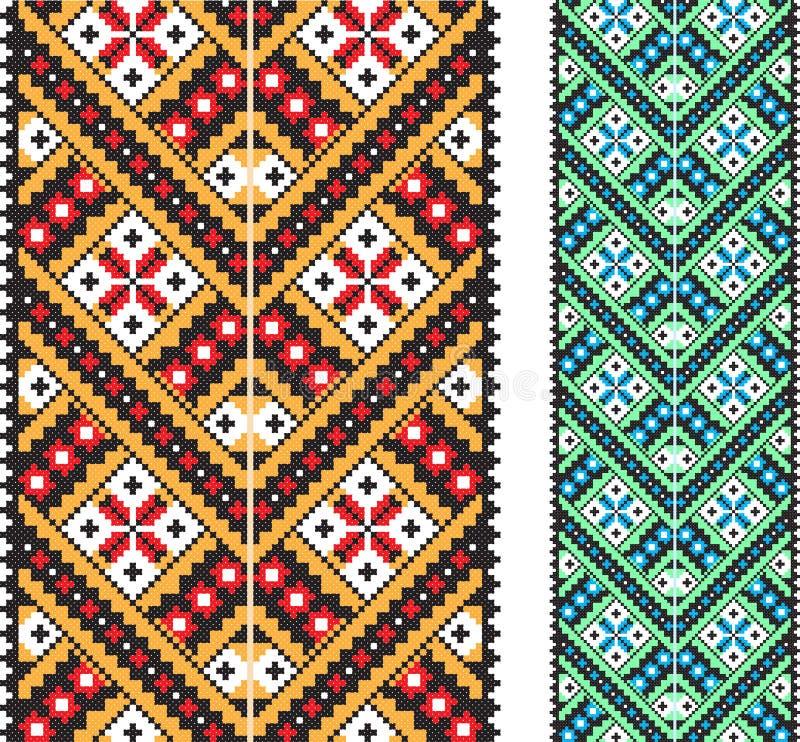 Ukraiński krajowy ornament ilustracji