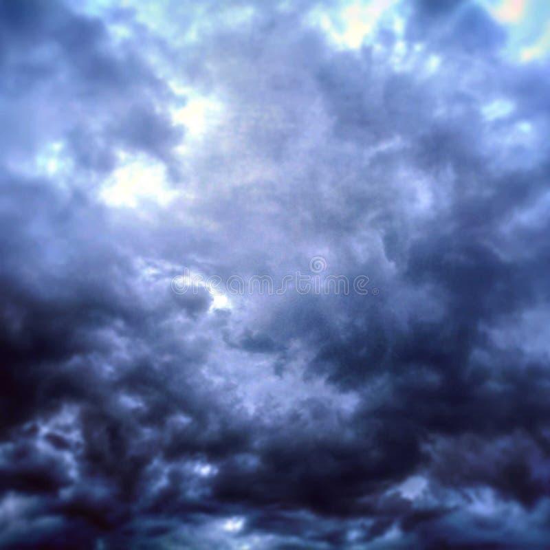Ukraiński niebo zdjęcie royalty free