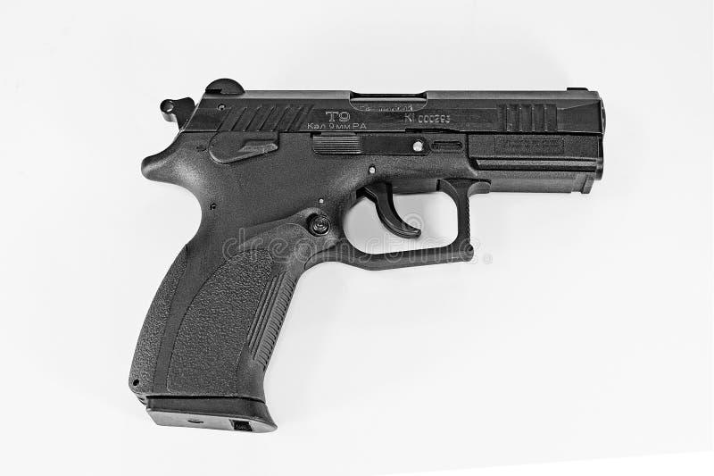 Ukraiński pistolecik T-9 oddzielający zdjęcia royalty free