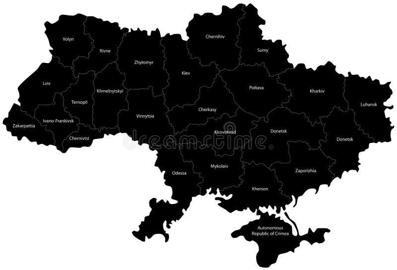 Ukraina ilustracja wektor